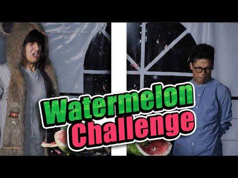 Watermelon Challenge / Harold - Benny / #WatermelonChallenge