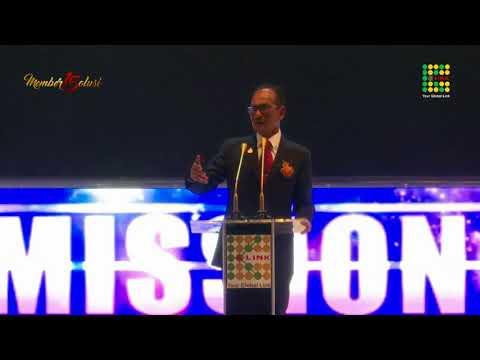 Sambutan Full Motivasi Presiden Direktur K-link Indonesia pada Anniversary K-link ke-15