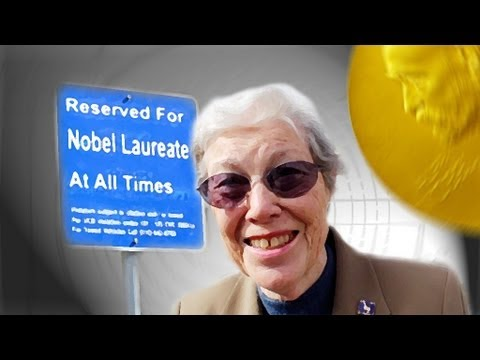 Nobel Prize Parking Spaces - Periodic Table of Videos