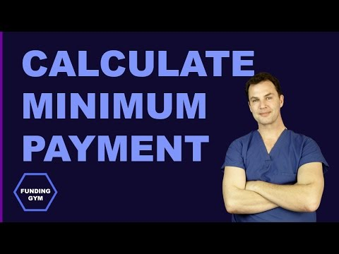 How to calculate your Minimum Payment on credit card, loan, line & mortgage [FUNDING GYM]