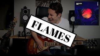 FLAMES - David Guetta, Sia - Guitar Cover by Sebastian Lindqvist Video