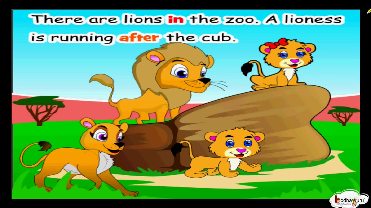 Short Animated Story- A Visit to the Zoo (Using ...
