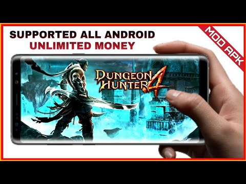 DUNGEON HUNTER 4 Version 2.0.1f Mod Apk Offline RPG GAME Download For Android | HD GAMEPLAY |
