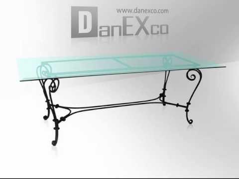 danexco wrought iron furniture 2
