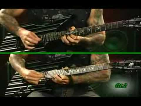 Synyster gates Bat Country solo