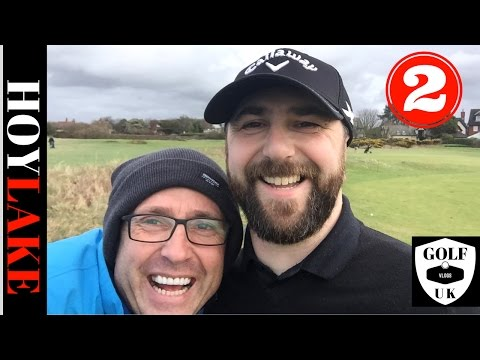 GOLF COURSE VLOG AT HOYLAKE ROYAL LIVERPOOL GOLF CLUB WITH MY GOLF MATE ROB POTTER