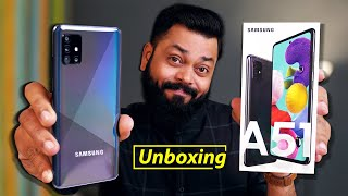 Samsung A51 Unboxing & First Impressions ⚡⚡⚡ Big Display, 48MP Cameras And More