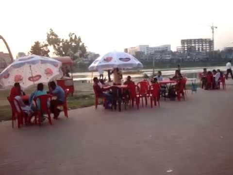 HATIRJHEEL BEAUTIFUL TOURIST PLACE IN DHAKA, BANGLADESH.