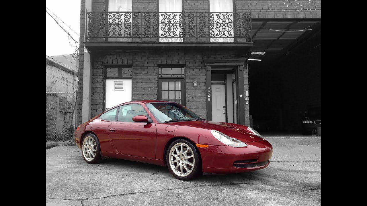 2000 Porsche 911 996 For Sale at Metairie Speed Shop