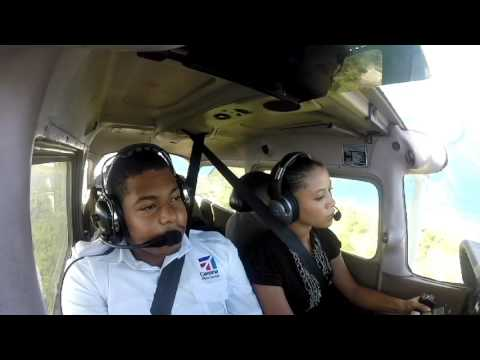 Jamaican Female Private Pilot -  Ashli MCclure & Friends - GoPro Footage