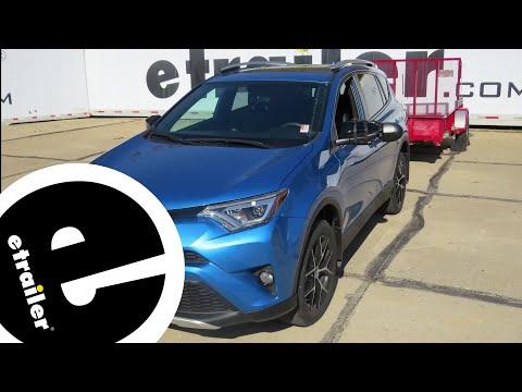 Etrailer | WeatherTech Front Auto Floor Mats Review - 2016 Toyota RAV4