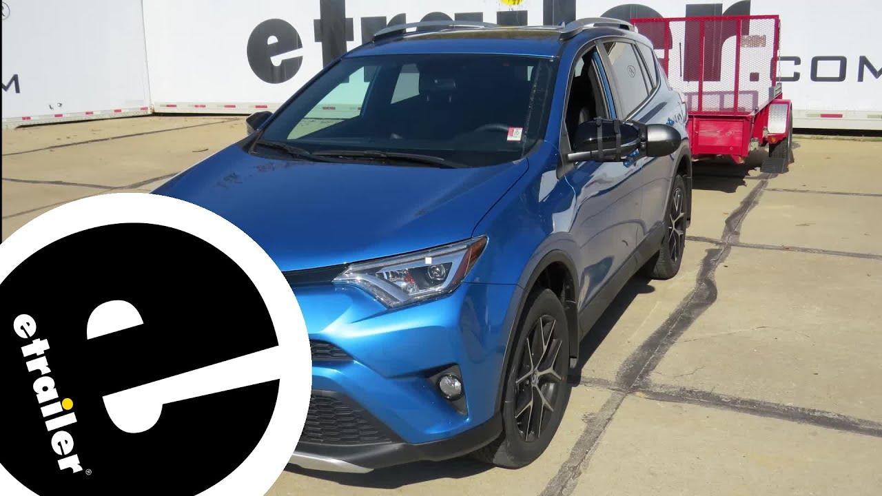 Etrailer Weathertech Front Auto Floor Mats Review 2016 Toyota Rav4 Youtube