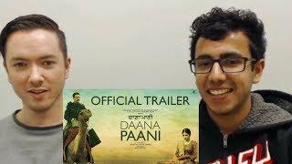 Daana Paani Trailer Reaction | American & Indian Exchange Culture