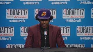 Josh Jackson speaks after Suns draft him