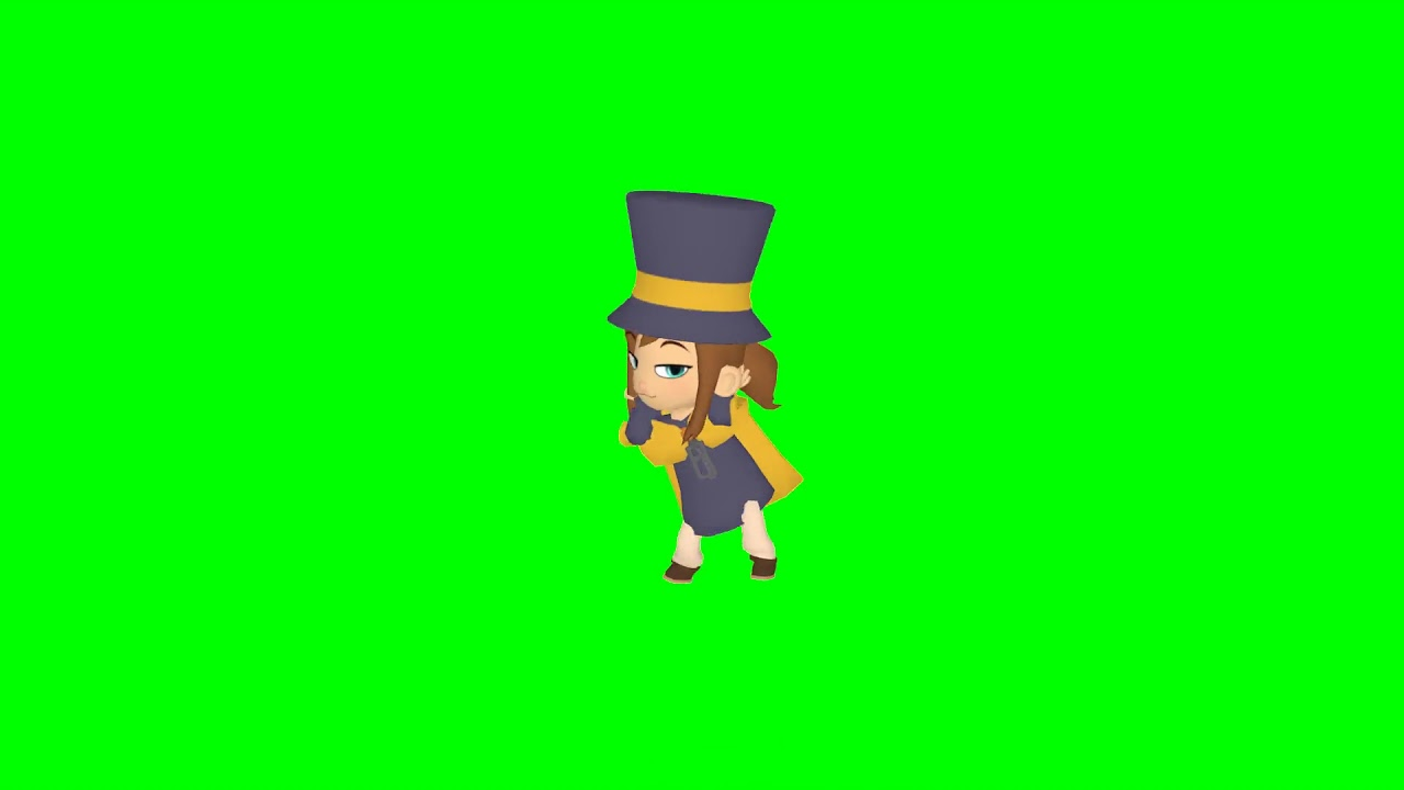 Test Hat Kid Does The Orange Justice Green Screen Youtube