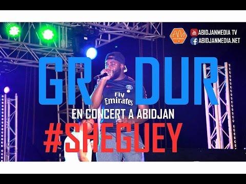 GRADUR - Concert à Abidjan et il ASSURE GRAVE