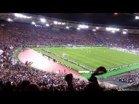 Finale Coppa Italia 2017. Esultanza gol 1-0 di Dani Alves della Juventus
