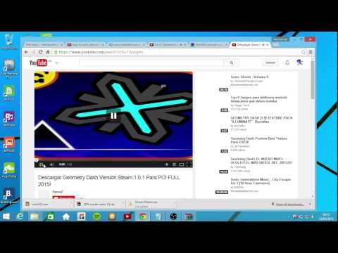 How to download geometry dash 1 91 pc tutorial out dated youtube