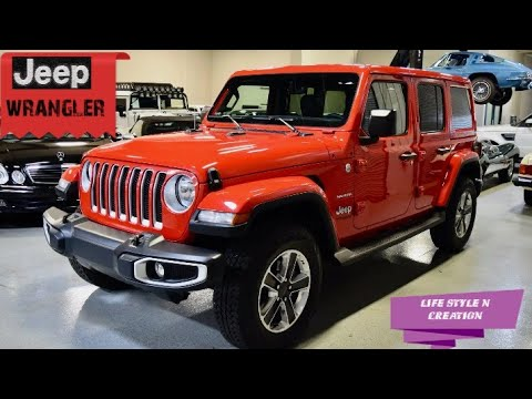 All New Jeep wrangler Unlimited   Details Review  