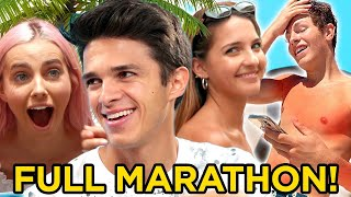 Brent Rivera DREAM VACATION - FULL MARATHON w/ Best Friends | AwesomenessTV