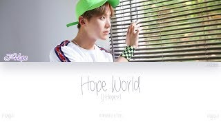 Baixar [HAN|ROM|ENG] J-Hope (제이홉) - Hope World (Color Coded Lyrics)