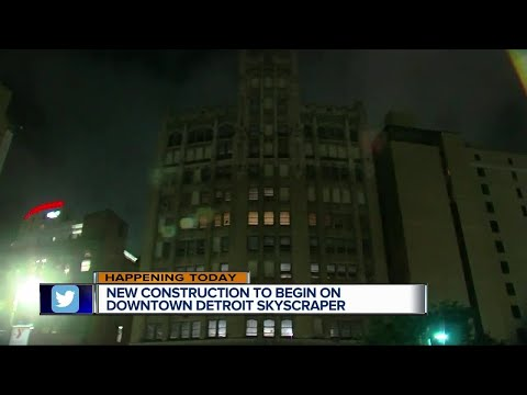 $32 million construction project to begin on Detroit skyscraper