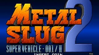 METAL SLUG 2  GAMEPLAY COMPLETO CO-OP