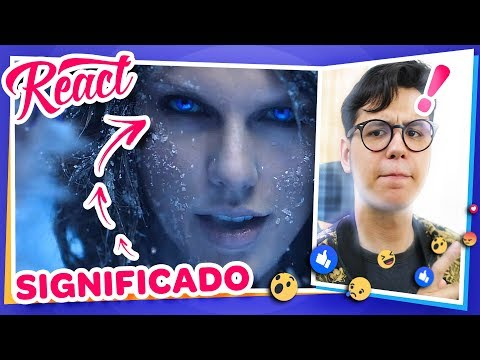EXPLICADO! Taylor Swift - Out Of The Woods | REACT