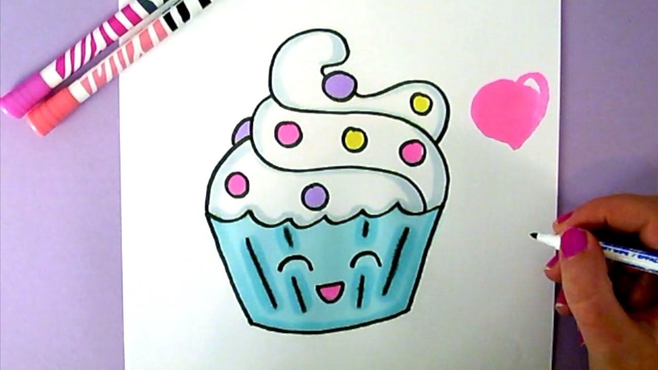 Easy Things To Draw Cake