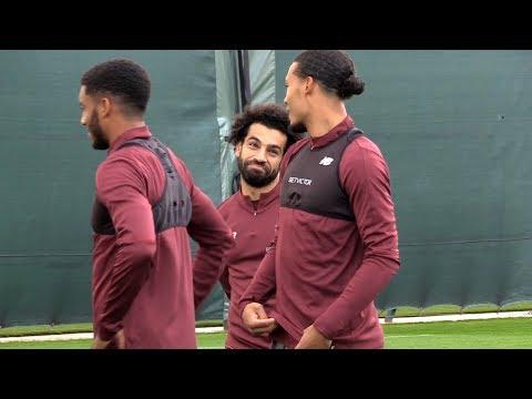 Liverpool Training Ahead Of PSG Champions League Clash