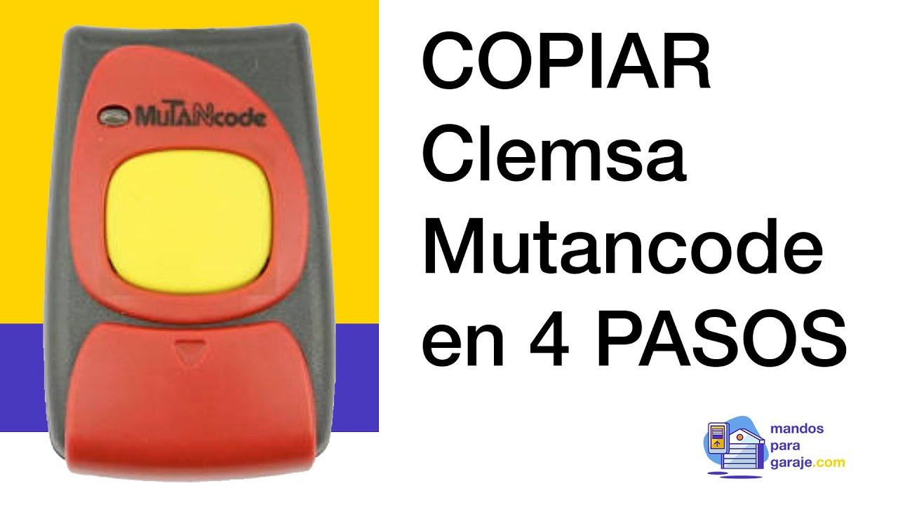 Mando de Garaje Universal HR MULTI 2 compatible con CLEMSA MUTANCODE T82