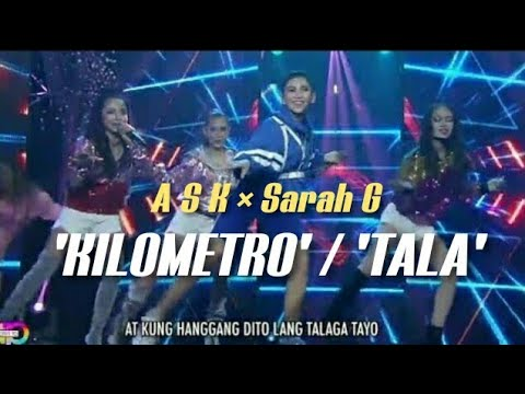 Sarah G and A.S.K perform hit songs 'Kilometro' and 'Tala' on ASAP Natin To