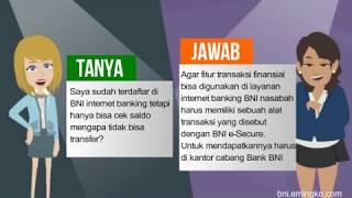 Mengapa BNI Internet Banking Tidak Bisa Transfer Saldo?
