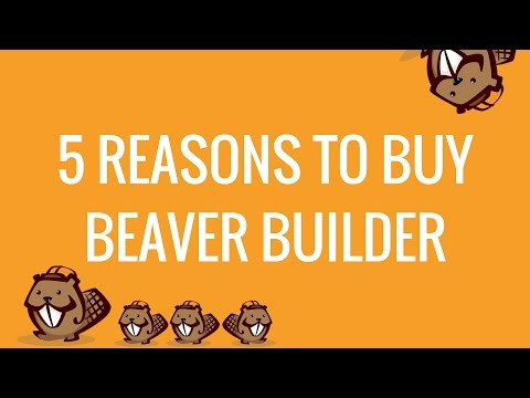 5 Amazing Reasons to buy Beaver Builder Page Builder Plugin for WordPress