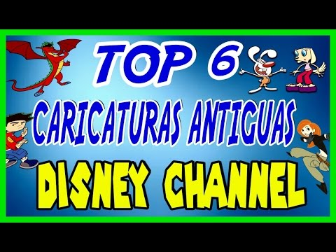 caricaturas de disney channel