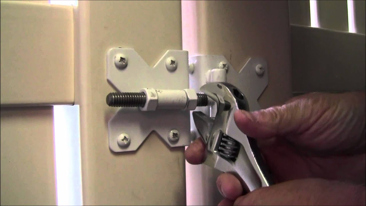 How To Adjust Your Pvc Fence Gate In Under 3 Minutes Youtube