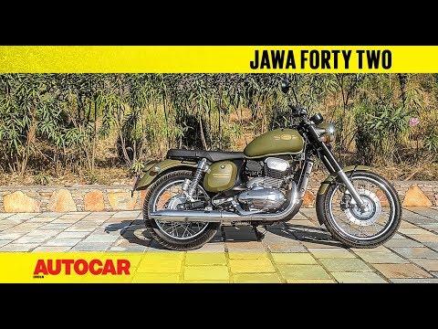 New Jawa Forty Two | Walkaround & Engine Sound | Autocar India
