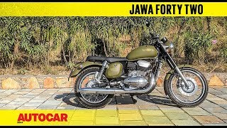 New Jawa Forty Two | Walkaround & Engine Sound | Autocar India