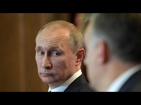 Budapest's warm welcome for Russian President Putin