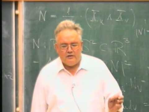 Landau Lectures| Prof. Hildebrandt | Part 2 | 1996/7