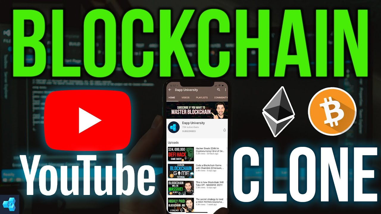 Code a Youtube Clone with Blockchain - Ethereum, Solidity, Web3.js, React.js