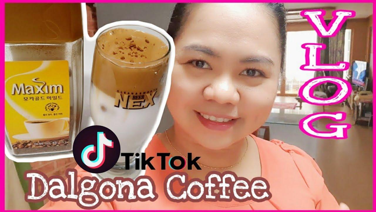 TRYING CREAMY DALGONA COFFEE : VIRAL Tiktok HACKS, GOGUMA ...