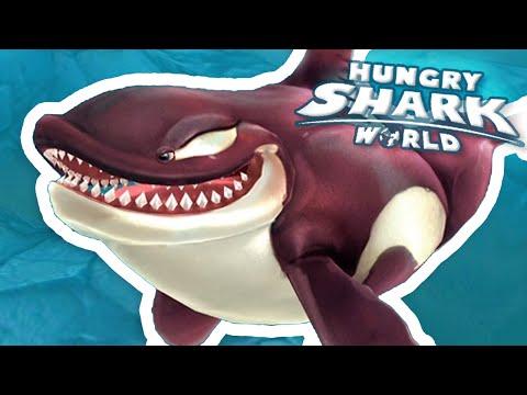 NEW KILLER WHALE!! - Hungry Shark World   Ep 26