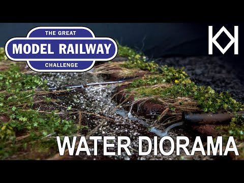 Great Model Railway Challenge Water Diorama