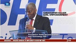 Christopher Kolade Foundation Holds Second Science & Technology Fair