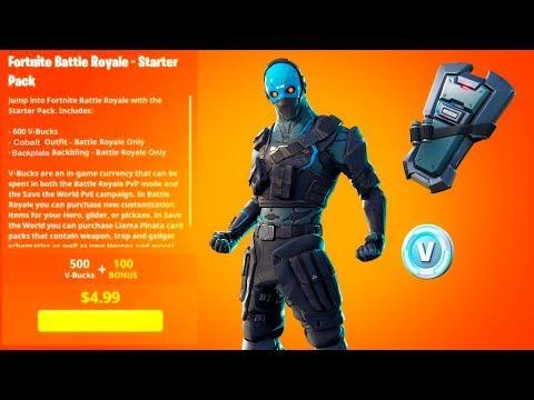 Fortnite cobalt starter pack ps4