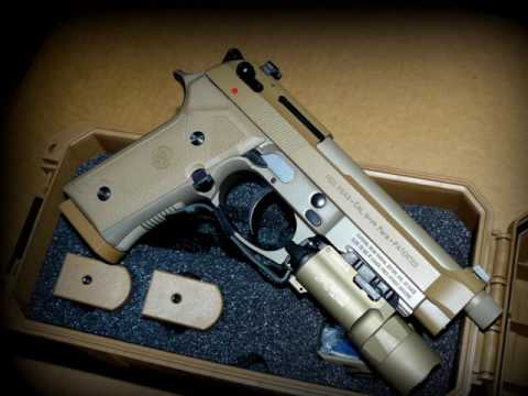 Repeat Unboxing the Beretta M9A3 - a FN SCAR 16S looking on