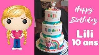 L'ANNIVERSAIRE DE LiLi : Le gâteau 🎂 + encore une grosse surprise!!!