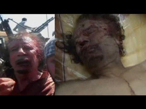 Mouammar Kadhafi capturé puis sauvagement lynché par des rebelles