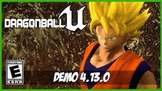 Dragon Ball: Unreal (DEMO) | Gameplay [PC - 4K]